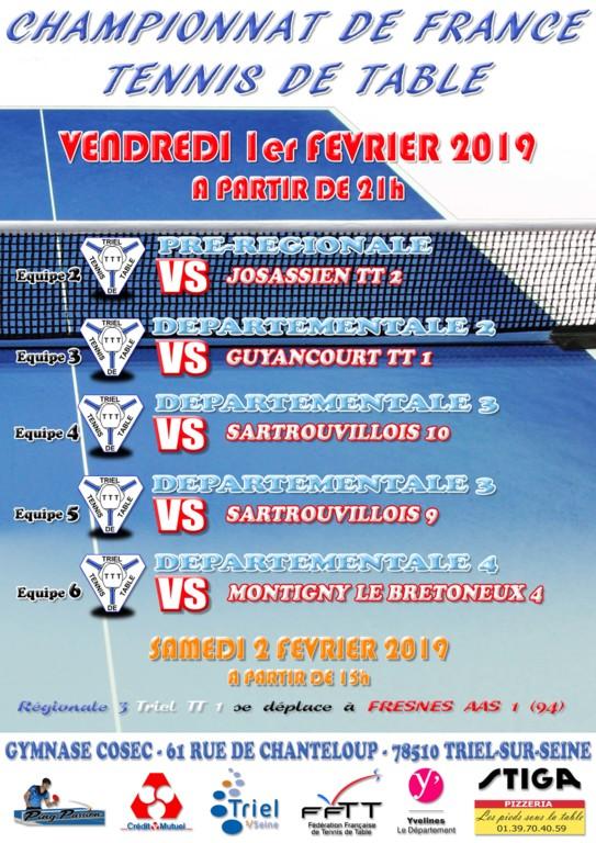 Tennis De Table Triel Sur Seine